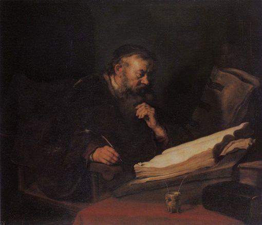 Man at his Desk | Salomon Koninck | Oil Painting