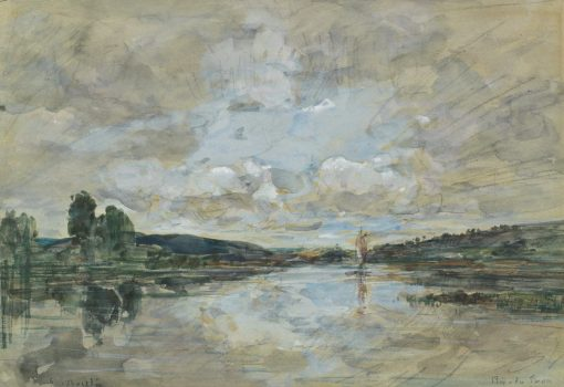 Estuary | Eugene Louis Boudin | Oil Painting