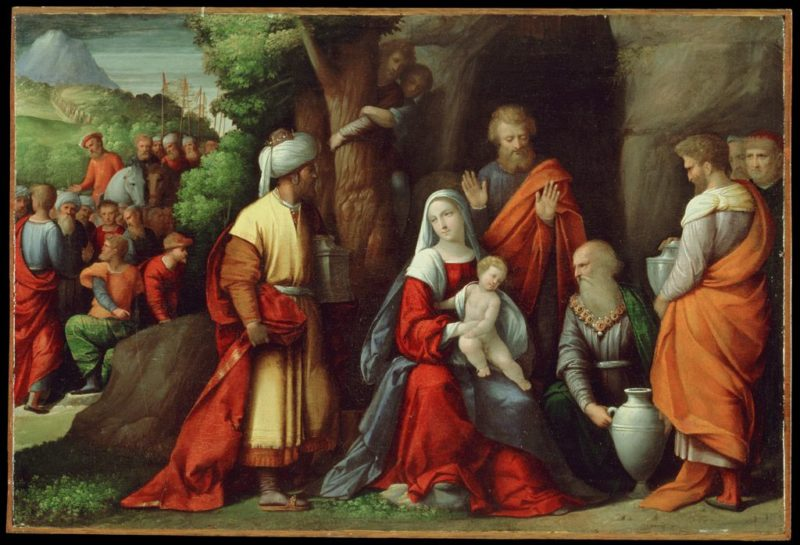 Adoration of the Magi | Il Garofalo | Oil Painting
