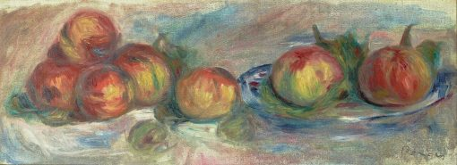 Still-Life with Apples | Pierre Auguste Renoir | Oil Painting