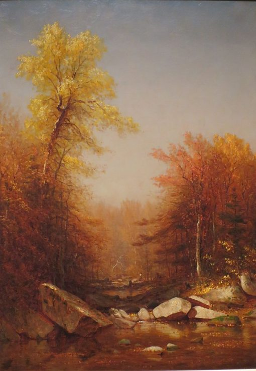 October in the Catskills | Sanford Robinson Gifford | Oil Painting