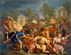 The Battle of the Lapiths and Centaurs | Sebastiano Ricci | Oil Painting