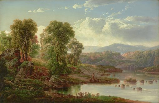 Landscape with Fisherman | William Louis Sonntag