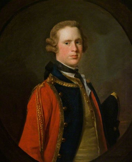 Captain Thomas Wallace | Allan Ramsay | Oil Painting
