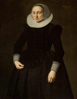 Vrouw Elizabeth Coreboult | Nicolaes Eliasz. Pickenoy | Oil Painting