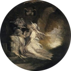 A Shakespearean Subject | Johann Heinrich Fuseli | Oil Painting