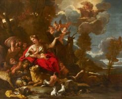 Cybele | Luca Giordano | Oil Painting