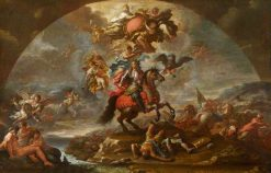 The Glorification of Prince Eugene of Savoy's Victory over the Turks in Hungary | Paolo de' Matteis | Oil Painting