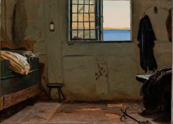 A Fisherman's Bedroom | Christen Dalsgaard | Oil Painting