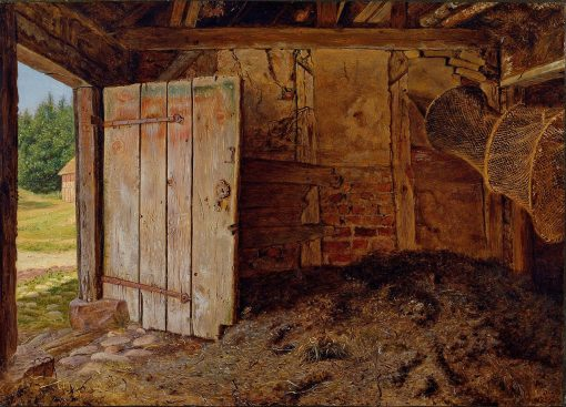 Outhouse Interior | Christen Dalsgaard | Oil Painting