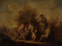 The Ballard-Monger | Adriaen van Ostade | Oil Painting