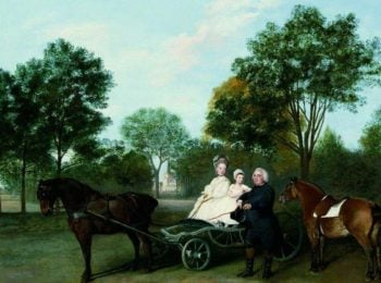 The Reverend Robert Carter Thelwall and His Family | George Stubbs | Oil Painting