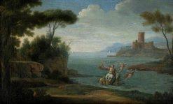 The Rape of Europa | Herman van Swanevelt | Oil Painting