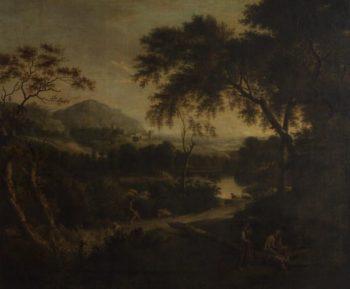 Landscape with Pastoral Figures | Jan Frans van Bloemen | Oil Painting