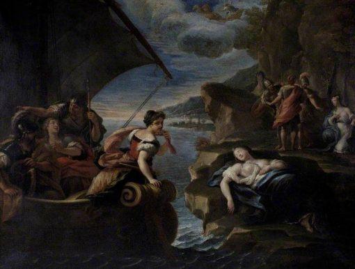 Rinaldo and Armida   Paolo de' Matteis   Oil Painting