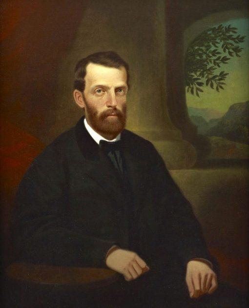 John R Griffin | George Caleb Bingham | Oil Painting