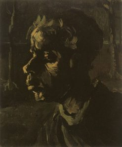 Peasant Woman Head | Vincent van Gogh | Oil Painting