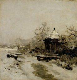 Winter | Willem Bastiaan Tholen | Oil Painting