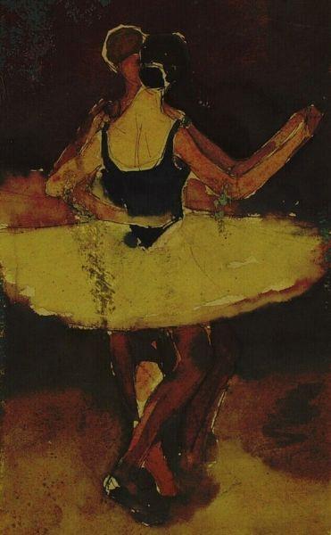 Two Ballet Dancers | Willem de Zwart | Oil Painting