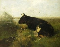 Cow Lying Down | Willem Maris | Oil Painting