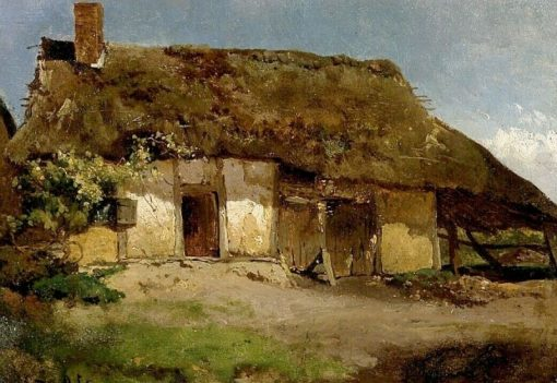 The Hut | Willem Roelofs | Oil Painting