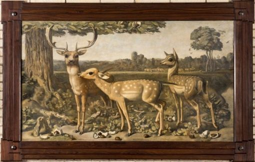 Fallow Deer | Willem van Konijnenburg | Oil Painting
