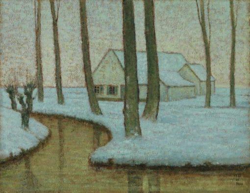 Desolation | William Degouve de Nuncques | Oil Painting