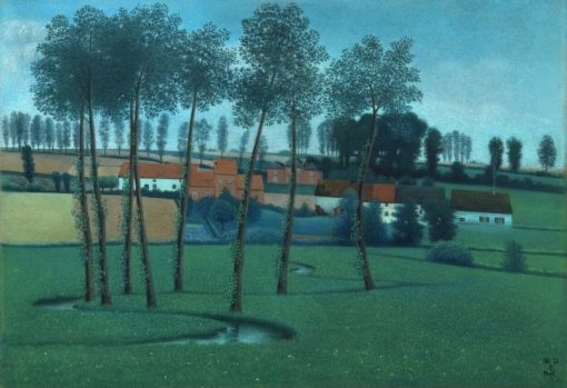 Summer in Brabant | William Degouve de Nuncques | Oil Painting