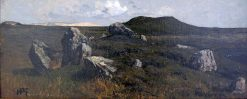Megalithic Graves on Sylt | Hans Feddersen | Oil Painting