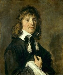 Portrait of a Man with a Tassle Collar | Frans Hals | Oil Painting