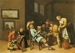 Children Playing Cards | Jan Miense Molenaer | Oil Painting