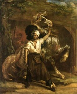 The Horse Tamer | ThEodore GEricault | Oil Painting