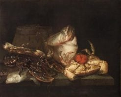Still Life with Shellfish | Abraham van Beyeren | Oil Painting