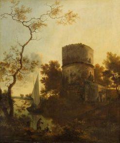 Tivoli Landscape   Adam Pynacker   Oil Painting