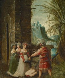 The Beheading of John the Baptist | Albrecht Altdorfer | Oil Painting