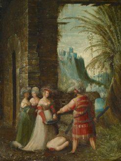The Beheading of John the Baptist   Albrecht Altdorfer   Oil Painting