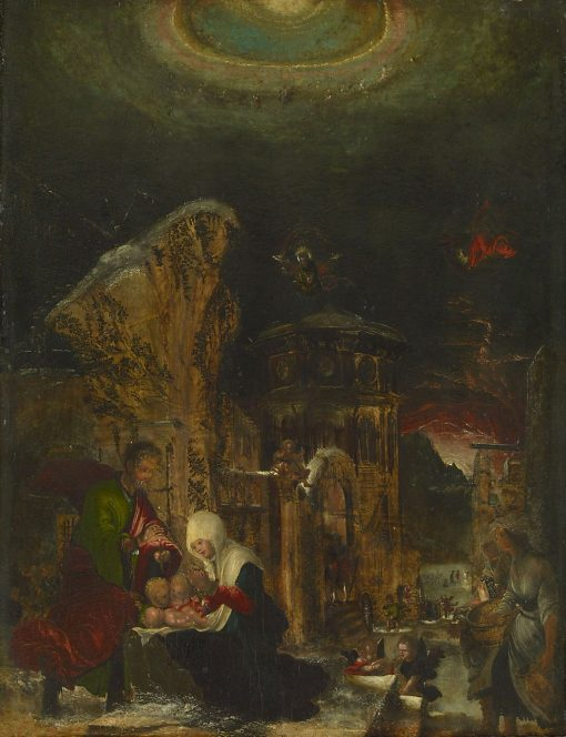 Birth of Christ | Albrecht Altdorfer | Oil Painting