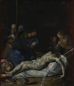 Lamentation over the Body of Christ | Alessandro Turchi | Oil Painting