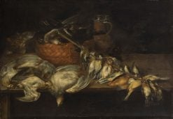 Dead Birds and Cat | Alexander Adriaenssen | Oil Painting