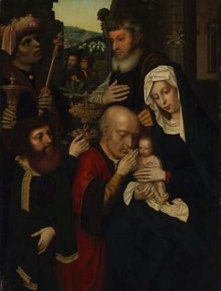 Adoration of the Christ Child | Ambrosius Benson | Oil Painting