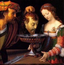 Salome with the Head of Saint John the Baptist | Andrea Solario | Oil Painting