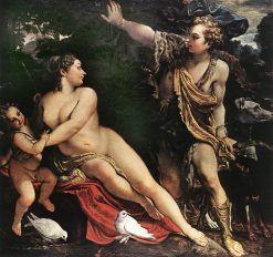 Venus and Adonis | Annibale Carracci | Oil Painting