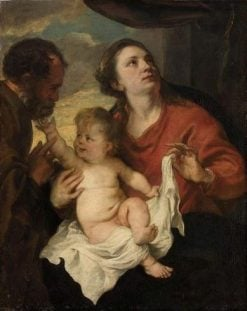 The Holy Family | Anthony van Dyck | Oil Painting
