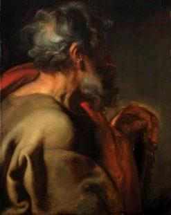 The Apostle Simon   Anthony van Dyck   Oil Painting