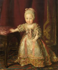 Maria Theresa von Neapel (1772-1807) as a Child | Anton Raphael Mengs | Oil Painting