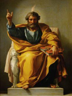 The Apostle Peter   Anton Raphael Mengs   Oil Painting