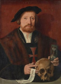Portrait of a Knight | Bartholomaeus Bruyn the Elder | Oil Painting