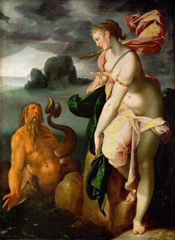 Glaucus and Scylla | Bartholomaeus Spranger | Oil Painting