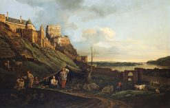 The Ruins of Thebes | Bernardo Bellotto | Oil Painting