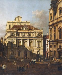 University Platz in Vienna | Bernardo Bellotto | Oil Painting